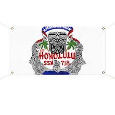 USS Honolulu SSN 718 Banner