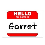 Hello my name is Garret Postcards (Package of 8)