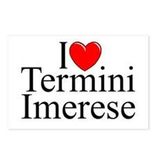 """I Love (Heart) Termini Imerese"" Postcards (Packag"