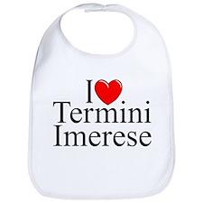 """I Love (Heart) Termini Imerese"" Bib"