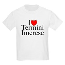 """I Love (Heart) Termini Imerese"" T-Shirt"
