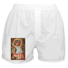 Little Girl Halloween Boxer Shorts