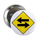 """Goes Both Ways - 2.25"""" Button (100 pack)"""