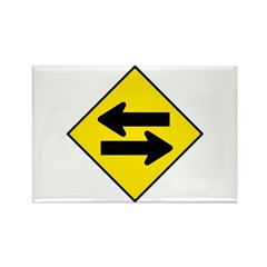 Goes Both Ways - Rectangle Magnet (10 pack)