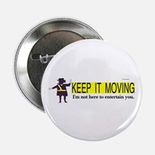 "Crossing Guard 2.25"" Button"