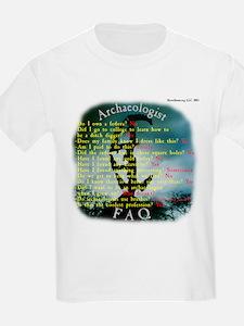 Copan, Honduras - Archaeologist FAQ Kids T-Shirt