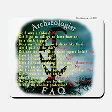 Copan, Honduras - Archaeologist FAQ Mousepad