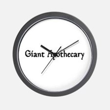 Giant Apothecary Wall Clock