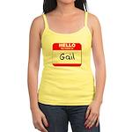Hello my name is Gail Jr. Spaghetti Tank