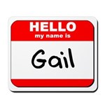 Hello my name is Gail Mousepad