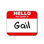 Hello my name is Gail Postcards (Package of 8)