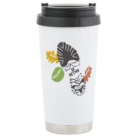 Be Active Stainless Steel Travel Mug