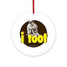 I Toot... Ornament (Round)