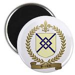 BRUNEAU Family Crest Magnet