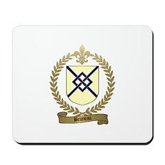BRUNEAU Family Crest Mousepad