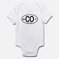 Colombia Euro Oval Infant Bodysuit
