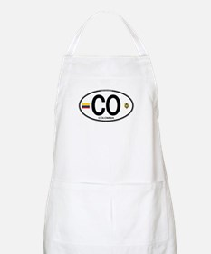 Colombia Euro Oval BBQ Apron