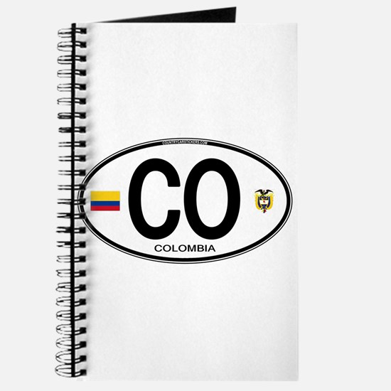 Colombia Euro Oval Journal