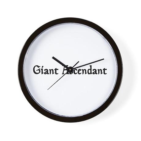 Giant Ascendant Wall Clock