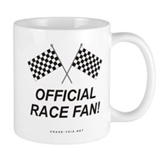 Checker Flag Official Mug (centered)