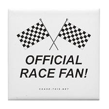 Checker Flag Official Tile Coaster