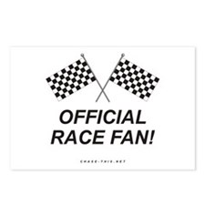 Checker Flag Official Postcards (Package of 8)