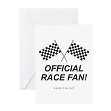 Checker Flag Official Greeting Card