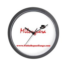 Milonguera Wall Clock