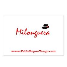 Milonguera Postcards (Package of 8)
