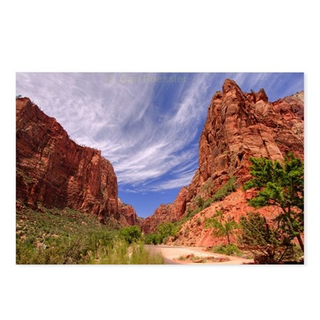 Zion National Park Big BenPostcards (Package of 8)