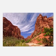 Zion National Park Big BenPostcards (Package of 8)