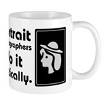 Portrait photographers do it Mug