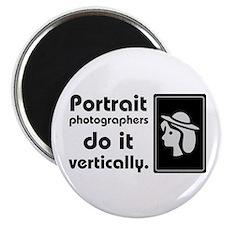 Portrait photographers do it Magnet