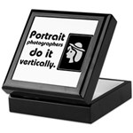 Portrait photographers do it Keepsake Box