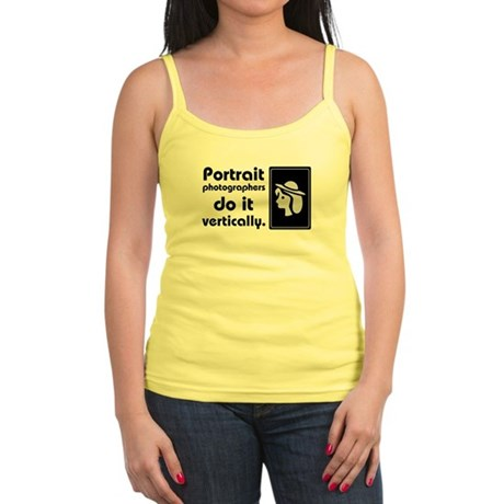 Portrait photographers do it Jr. Spaghetti Tank