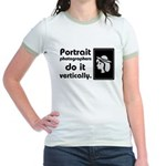 Portrait photographers do it Jr. Ringer T-Shirt