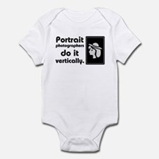 Portrait photographers do it Infant Bodysuit