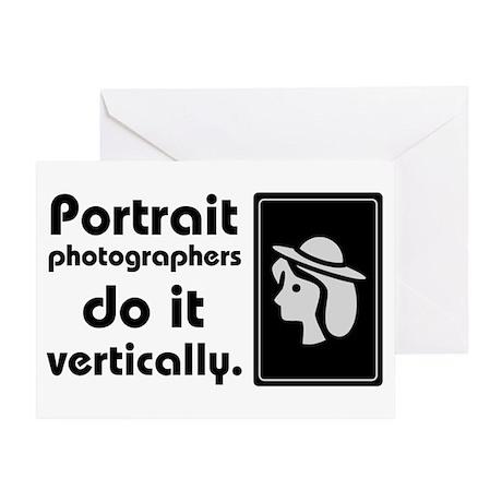 Portrait photographers do it Greeting Card