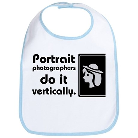 Portrait photographers do it Bib