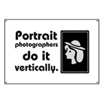 Portrait photographers do it Banner