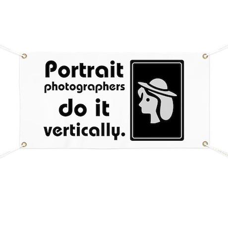 Portrait photographers do it Banner