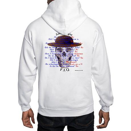 Cowgirls Logo & Arch FAQ Hooded Sweatshirt