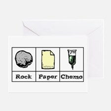 Rock Paper Chemo Greeting Card