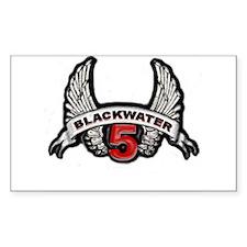 Blackwater 5 Rectangle Decal
