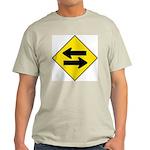 Goes Both Ways Ash Grey T-Shirt