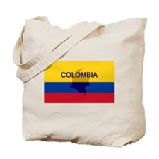 Colombian Flag Extra Tote Bag