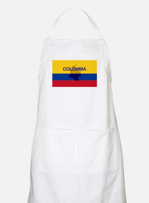 Colombian Flag Extra BBQ Apron