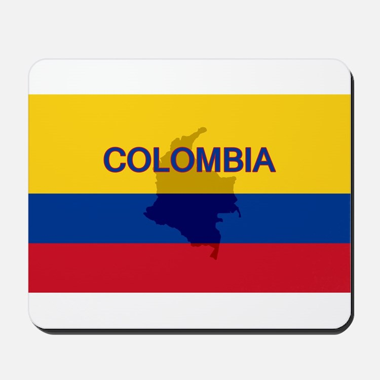 Colombian Flag Extra Mousepad