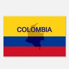 Colombian Flag Extra Postcards (Package of 8)