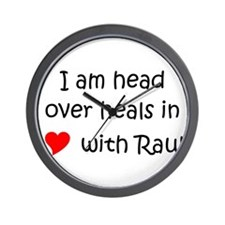 Cute Raul Wall Clock